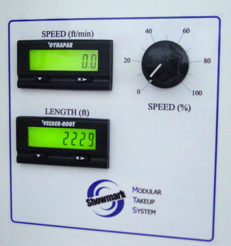 Modular Take-up System Control Panel