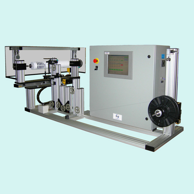 Spooling Machine for multiple spools