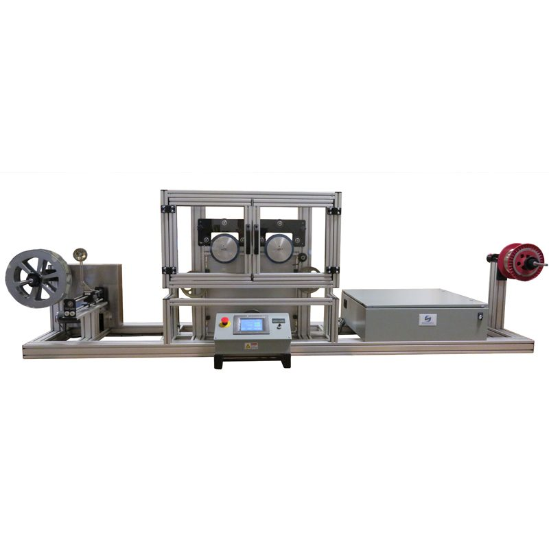 The PT-5KG is an economical and easy-to-use solution for meeting optical fiber proof testing requirements. The 1-meter long proof test zone uses dual servomotor driven capstans to provide continuous tension testing with a settable range up to 5Kg. The winding speed can be as high as 200 meters/minute. Separate tension control is provided in the payoff and take-up sections. The system also doubles as a general purpose fiber respooler.