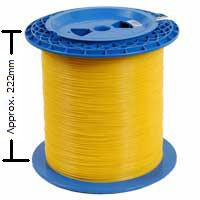 Doublewide Fiber Optic Spool