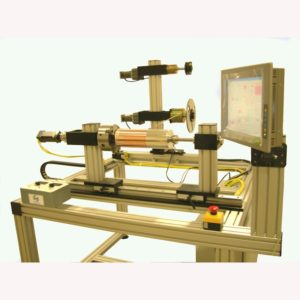Machine for winding super conducting magnets give the operator complete control over the winding process.