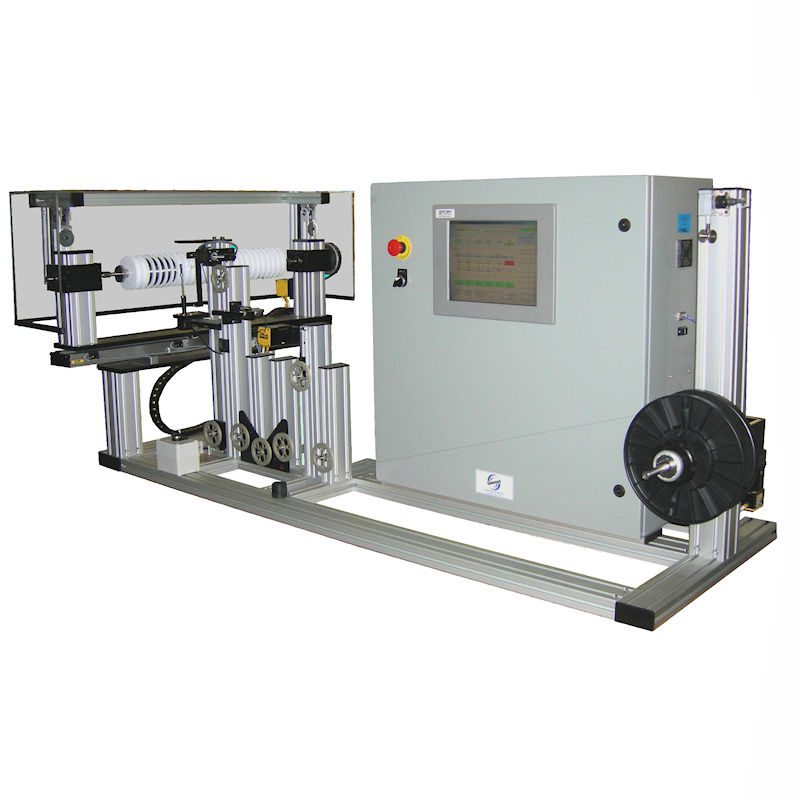 MultiSpooler Respooling Machine