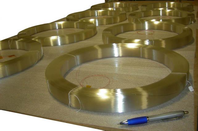 16 Inch Optical Fiber Delay Coils